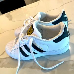 Gently used Adidas Ortholite Superstar Sneakers